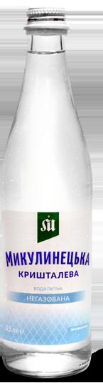 Woda mineralna niegazowana 0,5 l